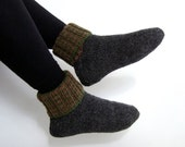 Hand-knitted Wool Socks - MADE IN FINLAND