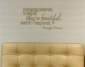 Marilyn Monroe Vinyl Wall Art Decor Lettering Words Graphic Decal