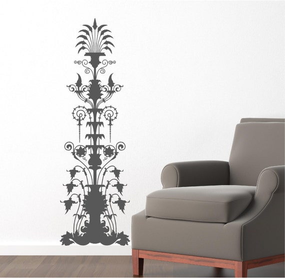 Items similar to 16x50 Water Fountain Victorian filigree