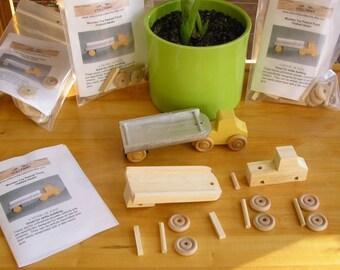 Peanut Truck Kit, Flatbed Semi