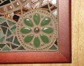 LEAVES OF 3 mosaic art