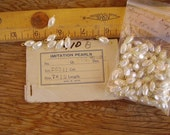100 Vintage Faux Pearls links for your craft projects or jewellery making.