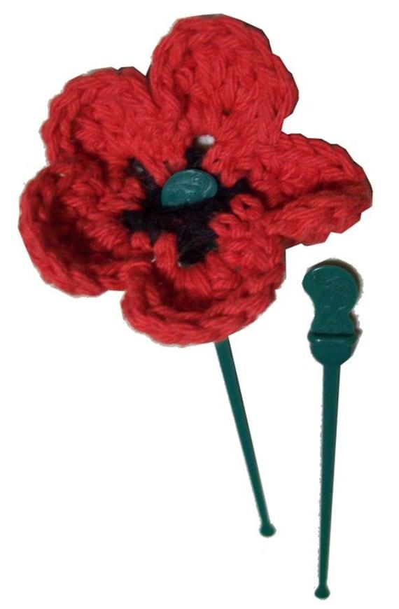 Starbucks Recycled Splash Stick Flower - Crochet Pattern
