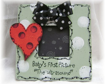 Ultrasound Picture Frame Baby's First Picture