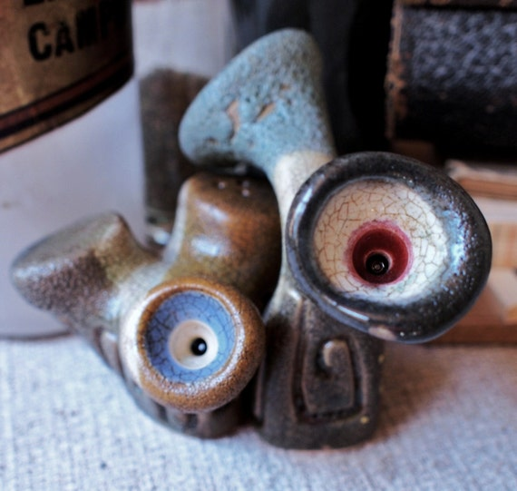 Pebble Plant And Spore Salt And Pepper