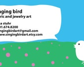 Business Card Reserved for singingbirdart