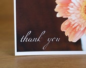Thank You, Daisy Single Card on recycled paper