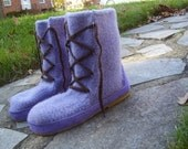Yuki Felted Boots Knitting Pattern -designed for outdoors-