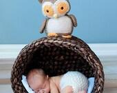 Crochet PATTERN: Owl crochet pattern -pdf-