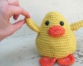 Amigurumi PATTERN: Crochet Chick -pdf-