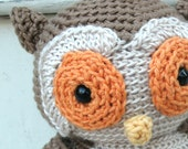 Amigurumi Crochet PATTERN: Owl -pdf-