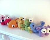 Crochet PATTERN ebook : Rainbow Amigurumi -pdf-