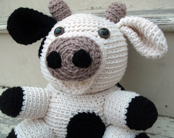 Crochet PATTERN: Cow -pdf-