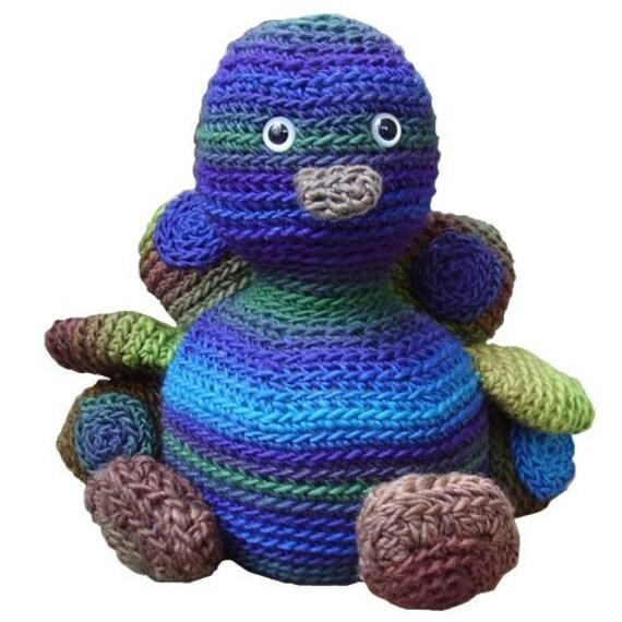 Amigurumi Star Wars De Ganchillo : Amigurumi Ridley the Peacock Crochet Pattern