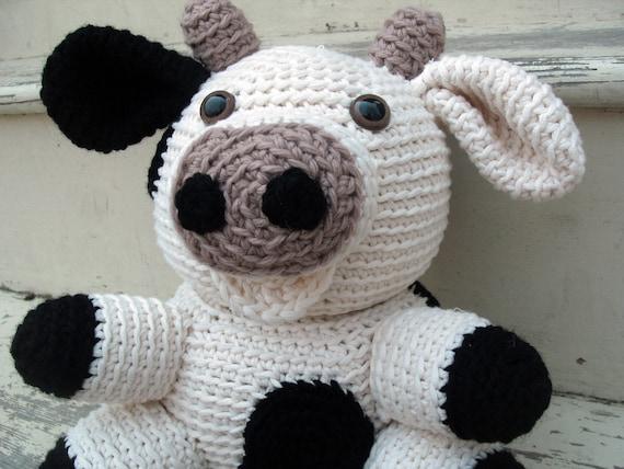 Amigurumi PATTERN: Crochet Cow pdf by FreshStitches on Etsy
