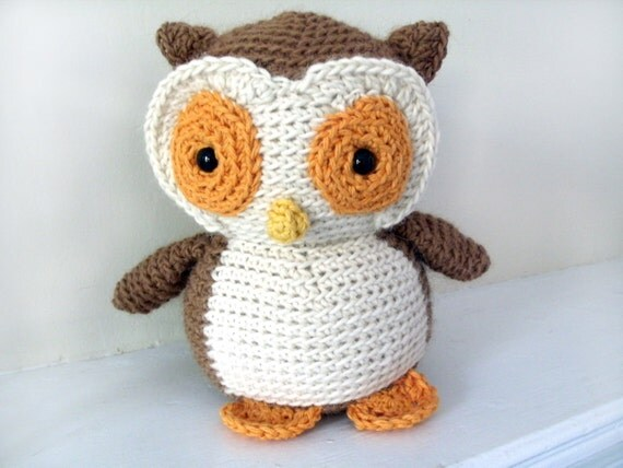 Amigurumi PATTERN: Crochet Owl pdf