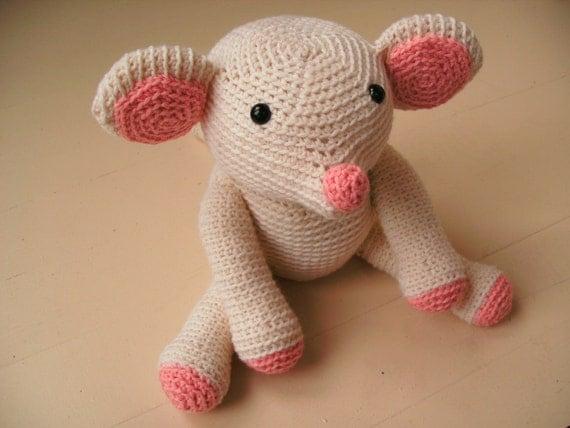 Amigurumi Crochet Mouse : Items similar to Amigurumi PATTERN: Crochet Mouse -pdf- on ...
