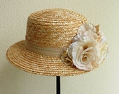 Afternoon Tea at Browns /womens derby wedding garden party Easter hat
