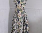 1940s Dress - Atomic Butterflies