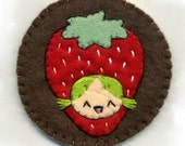 Strawberry Hat pin