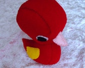 Little Red Duck Felt Plush