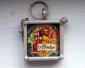 Keep Calm and Carry A Wand Gryffindor Window Locket Charm