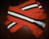 Cleveland Browns style scarf