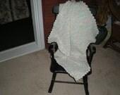 Scalloped Edge Pastel Baby Blanket