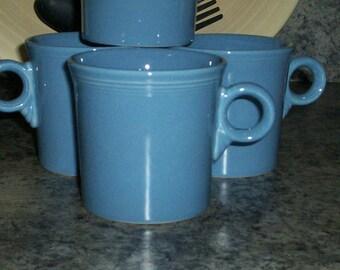 Fiesta Periwinkle  Blue Coffee Mug 3 Available