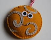 Venus happy planet christmas ornament