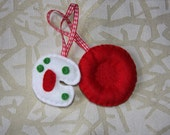 Red and White Blood Cell Hanging Decorations Set.
