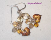 Crystal Autumn Earrings