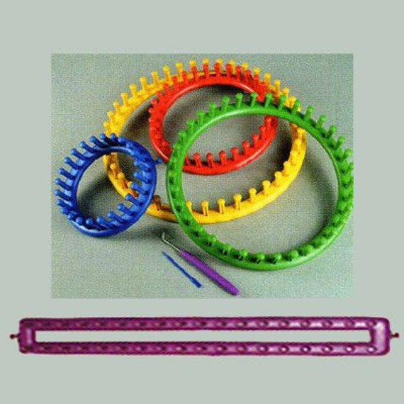 FREE SHIPPING PROVECRAFT KNIFTY KNITTER ROUND LOOMS AND BOARD