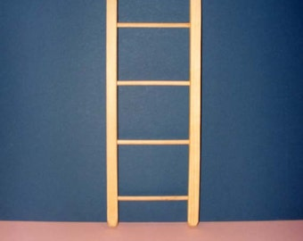 16 Inch Ladder for American Girl Doll, Small Newborn Photo Prop, or the small Princess and the Pea Bunk Bed