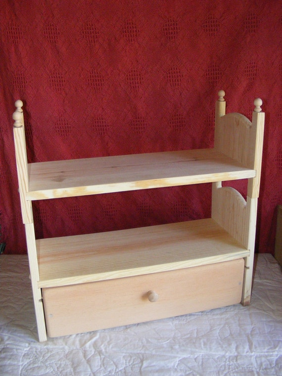 Handmade Stackable AG Doll Bunk Bed Trundle Drawer
