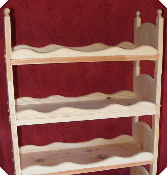 Stackable American Girl Triple Doll Bunk Bed with sides