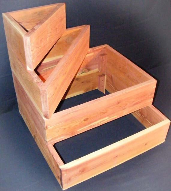 Items Similar To Stackable Cedar Raised Planter 2 5x2 5x2