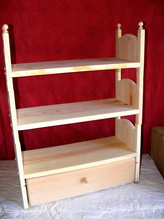 New Hand Made Stackable Triple Bunk Bed Trundle 4 American
