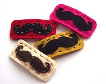 Moustache Hair Clip