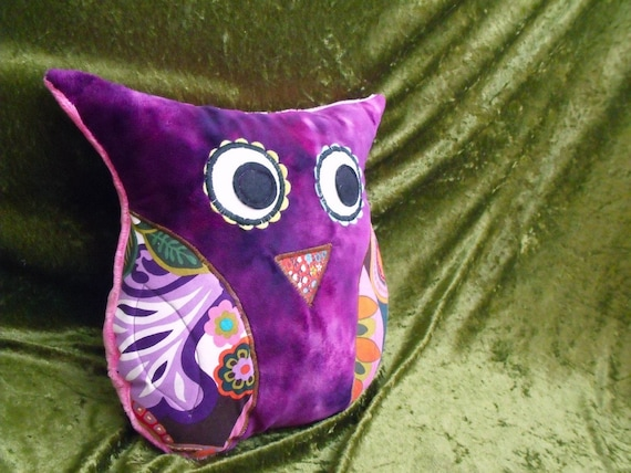 Owl Pillow- Super Soft