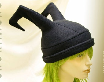 Kingdom Hearts Heartless Hat - Eyeless Shadow - soft fleece cosplay hats by orgXIIIorg