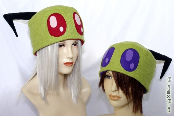 Invader ZIM Irken Cap - cosplay hats by orgXIIIorg