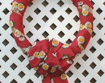 Daisy Wreath - Summer Wreath - Spring Wreath - Straw Wreath - Front Door Wreath - Door Wreath - Spring Daisy Wreath - Floral Wreath - Wreath