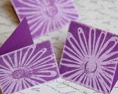 Ups a Daisy Mini Card or Gift Tag - set of 5