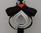 Penguin Hair Clip \/ Bow