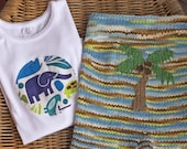 Loopy Lilly - Jungle Boy Shorties (Large)