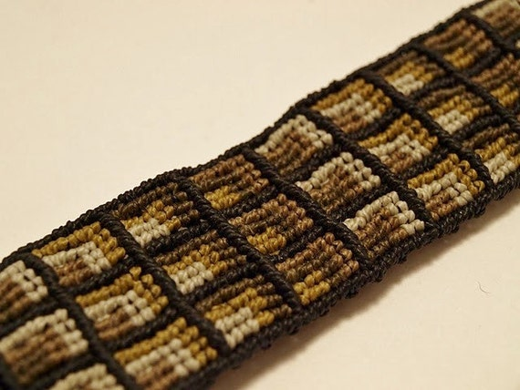 Slate Moss Cavandoli Bracelet