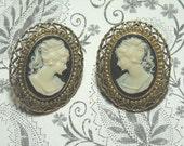 Cameo Earrings (Sale Was 6.00)