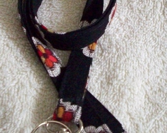 Handcrafted Lanyard with Vera Pirouette Bradley