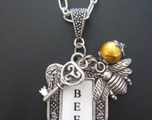 Bee Jewelry - Keeper of the Bees Pendant Necklace